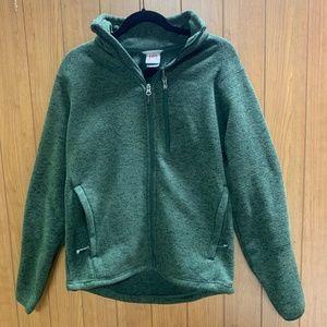 Avalanche Men's Green Full Zip Fleece Jacket